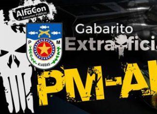 Gabarito extraoficial PM AL
