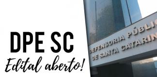 Concurso Defensoria SC