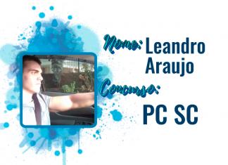 Aprovado Leandro Araujo