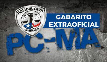 Gabarito extraoficial PC MA