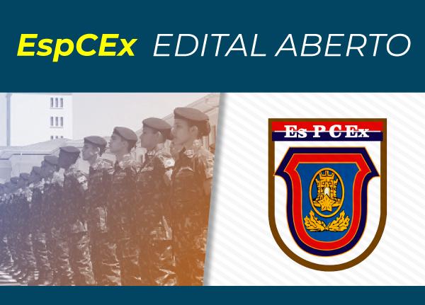 Imagem do símbolo do EsPCEx, edital para concurso aberto