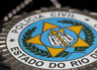 Imagem com o símbolo da PC RJ - Concurso