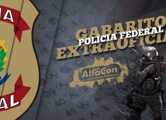 Gabarito Extraoficial Polícia Federal 2018