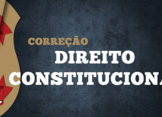 Gabarito Extraoficial Polícia Federal 2018 - Comentários de Direito Constitucional