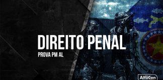 Gabarito Extraoficial PM AL 2018 - Comentários de Direito Penal