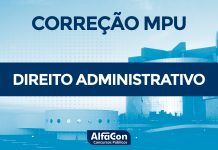 Gabarito Extraoficial MPU 2018 - Comentários de Direito Administrativo