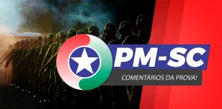 Logotipo do Concurso PM SC