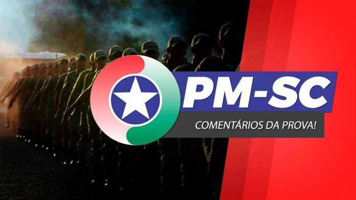Logotipo do Concurso PM SC