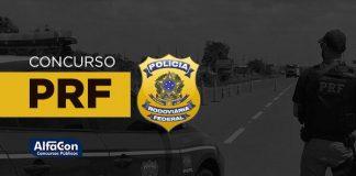 Imagem com o símbolo da PRF