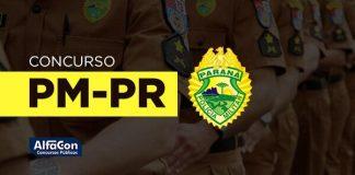 Imagem com o símbolo da PM PR
