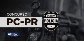 Imagem com símbolo da PC PR