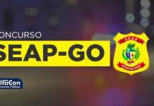 Imagem com o símbolo da SEAP GO
