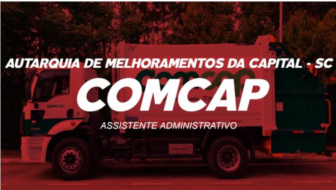 CONCURSO COMCAP SC