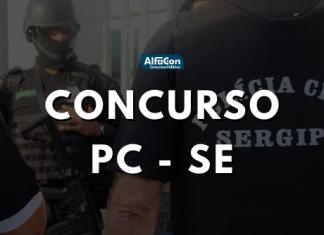 Novo concurso PC SE (Polícia Civil de Sergipe) contará com 60 oportunidades para cargos de agente policial e escrivão, ambos de nível superior