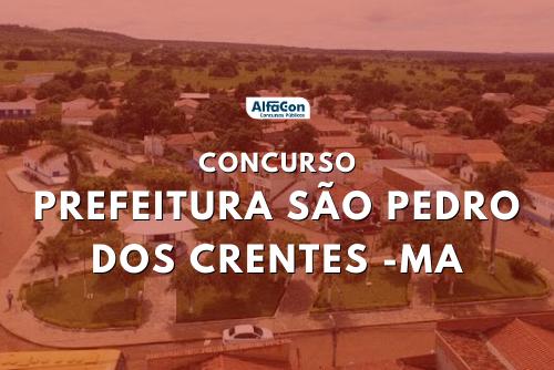 Oportunidades do concurso em São Pedro dos Crentes estão distribuídas entre cargos de todos os níveis escolares. Salários chegam a R$ 13 mil
