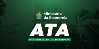 Concurso Ministério da Economia