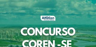 O novo concurso Coren SE (Conselho Regional de Enfermagem de Sergipe) será destinado aos cargos de técnico administrativo e enfermeiro fiscal, de níveis médio e superior