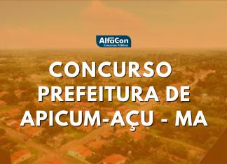 Concurso Prefeitura de Apicum-Açu MA: