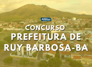 Concurso Prefeitura Ruy Barbosa BA