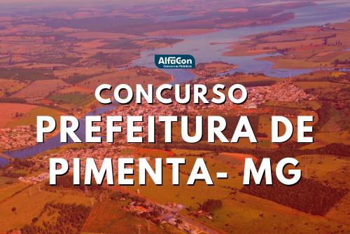Concurso da Prefeitura de Pimenta MG