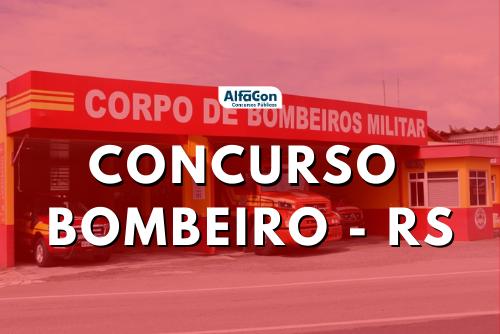 Concurso Bombeiros RS: publicado edital com 600 vagas