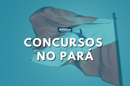 Concursos abertos no Pará reúnem 1,4 mil vagas em Mocajuba e Redenção
