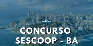Oferta do concurso Sescoop BA (Serviço Nacional de Aprendizagem do Cooperativismo no Estado da Bahia) é de uma vaga para o cargo de advogado