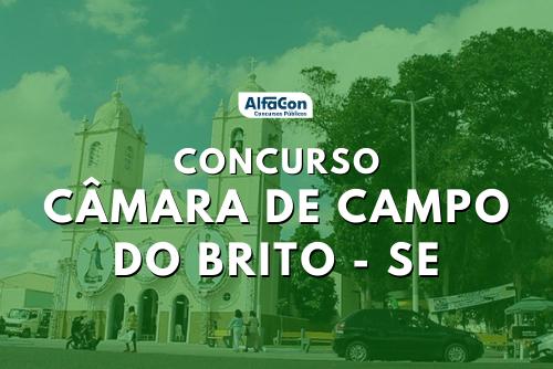 Concurso Câmara de Campo do Brito SE inscreve para nove vagas