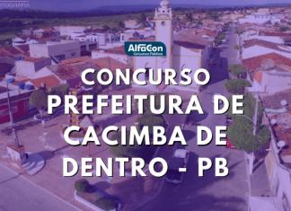 Oportunidades do concurso de Cacimba de Dentro são para diversos cargos, de todos os níveis escolares. Salários chegam a R$ 12 mil