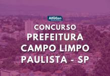 As chances do concurso de Campo Limpo Paulista são destinadas a candidatos de ambos os sexos, que concluíram o ensino médio. Salário oferecido é de R$ 1,6 mil