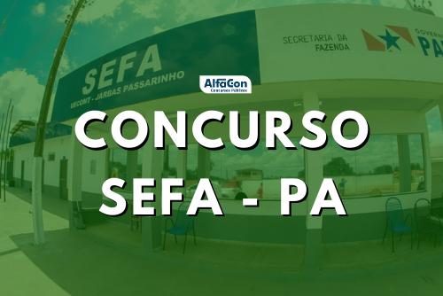 Novo concurso Sefa PA (Secretaria da Fazenda do Pará) será para a carreira de auditor fiscal, que pede nível superior, com inicial de R$ 7,4 mil