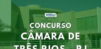 Ofertas do concurso Câmara de Três Rios são destinadas a candidatos de todos os níveis escolares. Remunerações iniciais chegam a R$ 2,4 mil