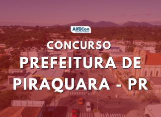 As chances do concurso Prefeitura de Piraquara são para candidatos de nível superior. Salários chegam a R$ 11,9 mil