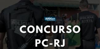 Novo concurso PC RJ (Polícia Civil do Rio de Janeiro) convocará 73 inicialmente e demais durante a validade . Opções de níveis fundamental, médio e superior e iniciais até R$ 18,1 mil