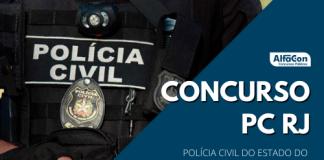 Novo concurso PC RJ (Polícia Civil do Rio de Janeiro) terá 864 vagas, sendo 73 inicialmente e demais durante a validade . Opções de níveis fundamental, médio e superior e iniciais até R$ 18,1 mil