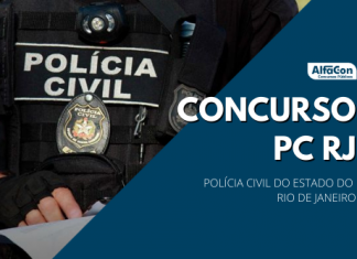 Novo concurso PC RJ (Polícia Civil do Rio de Janeiro) terá 864 vagas, sendo 73 inicialmente e demais durante a validade. Opções de níveis fundamental, médio e superior e iniciais até R$ 18,1 mil