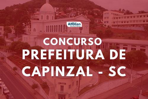 Ofertas do concurso Prefeitura de Capinzal estão distribuídas entre diversos cargos, de todos os níveis escolares. Salários de até R$ 2,7 mil