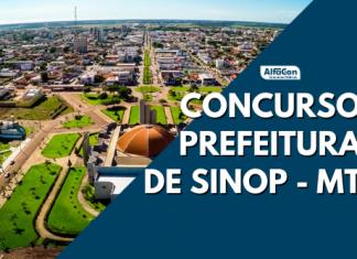 Inscrições começam nesta sexta-feira (13) e vão até 22 de novembro. Distribuídas entre diversas áreas, oportunidades no concurso Prefeitura de Sinop pagam R$ 3,4 mil