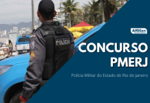 Novo concurso PM RJ (Polícia Militar do Rio de Janeiro) contará com uma oferta de 32 vagas, para nível superior e R$ 7,1 mil após o curso de formação