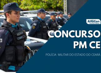 Novo concurso PM CE (Polícia Militar do Ceará) contará com 2 mil vagas para soldados e 200 para oficiais. Ensino médio e superior e R$ 3,1mil
