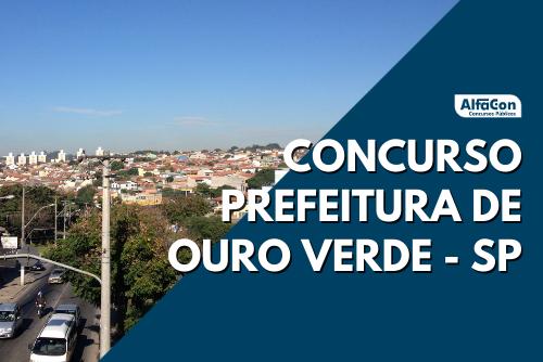 Ofertas do concurso Prefeitura de Ouro Verde são para os cargos de agente comunitário de saúde, cirurgião dentista e médico