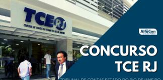 Com oferta de 40 vagas imediatas, concurso TCE RJ (Tribunal de Contas do Estado do Rio de Janeiro) paga R$ 13,7 mil. Provas da primeira fase serão aplicadas em fevereiro