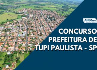 Oportunidades do concurso Prefeitura de Tupi Paulista são para candidatos de níveis médio e superior. Provas em dezembro