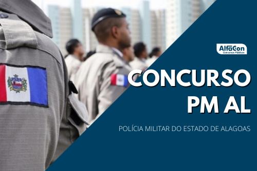 O novo concurso PM AL (Polícia Militar do Alagoas) para soldado foi autorizado pelo governador Renan Filho. Níveis médio e iniciais de R$ 3,7 mil