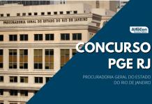 O edital do novo concurso PGE RJ (Procuradoria Geral do Estado do Rio de Janeiro) será para o cargo de procurador, de nível superior