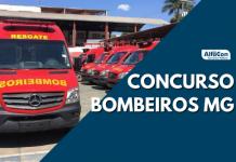 Chances no concurso Bombeiros MG são para admissão ao Curso de Formação de Oficiais (CFO) e ao Quadro de Oficiais de Saúde (QOS). Salários chegam a R$ 10 mil