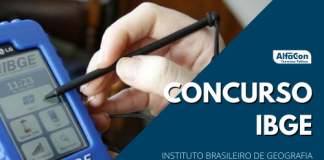 Outro concurso IBGE (Instituto Brasileiro de Geografia e Estatística) ocorrerá para mais 312 vagas de níveis médio e superior. Edital sai nos próximos dias