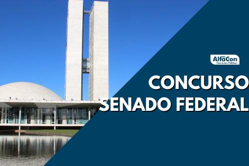 Concurso Senado Federal, para o preenchimento de 40 vagas, contará com opções de níveis médio e superior, com iniciais até R$ 34,4 mil