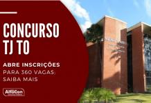 As chances do concurso TJ TO (Tribunal de Justiça do Estado do Tocantins) são imediatas e para cadastro reserva, para cargos temporários de níveis médio e superior