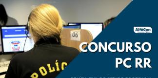 Novo concurso PC RR (Polícia Civil de Roraima) deve incluir cargo de delegado, que teve edital anterior cancelado. Nível superior e R$ 18,3 mil